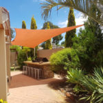 backyard custom shade sail