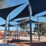 shade sails for a council playground